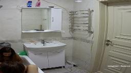 Pasha & shy guest girl share a bath 2 Sep 2021