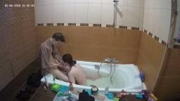 Deborah and Ian bath and blowjob, May 6