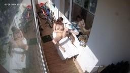 Emily naked sunbathing, May 26