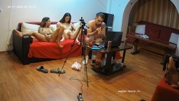 Tomy Jassie and guest girl 3some camshow, Sep 17