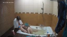 Deborah and Ian bath and blowjob, Sep 21