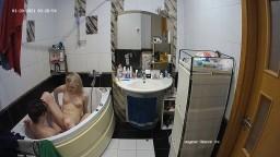 Guest couple bathtub sex, Jan 20
