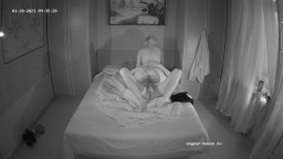 Guest couple wake up sex in the dark, Jan 20