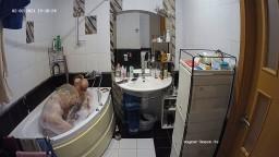 Guests sexy evening bath and blowjob, Feb 2