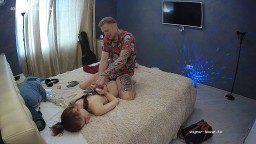 Sergio and Teresa fooling around, BDSM, sex and pussy eating, March 21