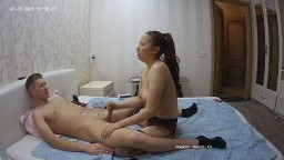 Archi and guest girl handjob, July 27