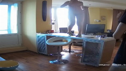 Bertha naked cooking and dancing on table, Aug16/21