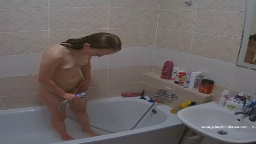 Katia bath and shave, Aug-26-2021